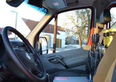 TSF Innenraum Fahrer